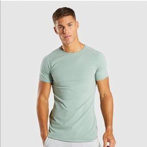 11dfe615 Gymshark Shirts | Eaze Tshirt In Alpine Green | Poshmark
